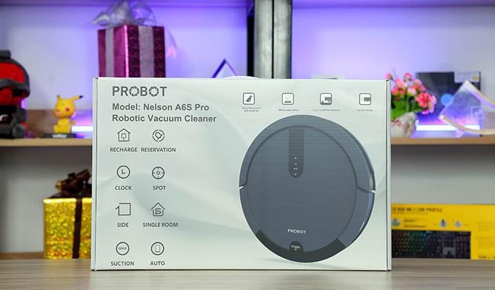 Đánh giá robot hút bị Probot Nelson A6s Pro