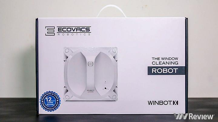 Đánh giá robot lau lính tự động Ecovac Winbot X