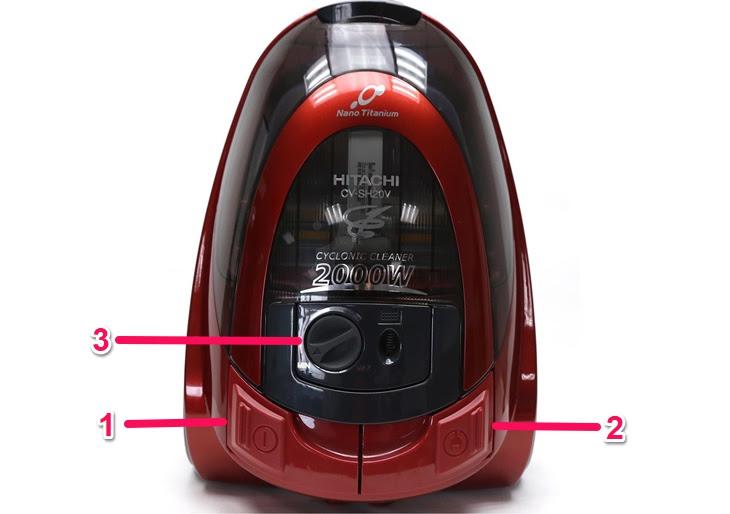 Cách sử dụng máy hút bụi Hitachi CV-SH20V