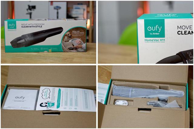 Eufy Homevac H11: một mẫu máy hút bụi cầm tay nhỏ giọn, tiện lợi